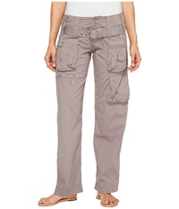 Johnny Was Poplin Cargo Pants Soot Sediment Women's Casual Pants Bronze