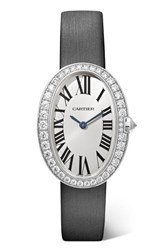 Cartier Baignoire 24.5Mm Small 18 Karat White Gold