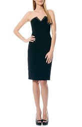 Women's Laundry By Shelli Segal Embellished Neckline Strapless Sheath Dress