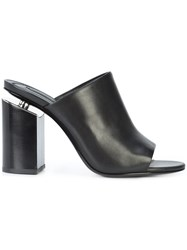 Alexander Wang Avery High Heel Mules Black