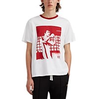Ovadia And Sons Bruce Lee Cotton T Shirt White