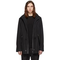 Mackage Black Mack Hooded Rain Jacket