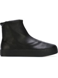 Opening Ceremony Hi Top Platform Sneakers Black