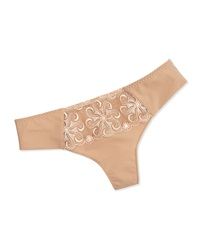 Simone Perele Revelation Mesh Lace Thong Nude Brown