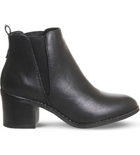 Office Lexi Faux Leather Chelsea Boots Black