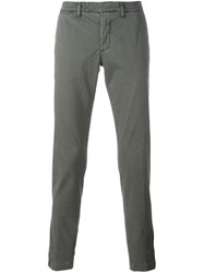 Eleventy Slim Fit Trousers Green