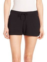 Saks Fifth Avenue X Majestic Filatures French Terry Drawstring Shorts Summer Sunset