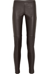Michael Michael Kors Faux Stretch Leather Leggings
