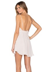 Indah Tahani Mini Dress Beige