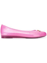 Melissa Vivienne Westwood Anglomania Wanting Ballerinas Pink And Purple