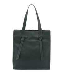 French Connection Aria Faux Leather Shopper Tote Bag Green