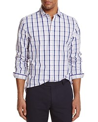 Bloomingdale's The Men's Store At Check Regular Fit Button Down Shirt Pale Pink