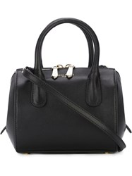 Nina Ricci Mini Satchel Bag Black