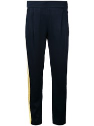 Each X Other Tuxedo Trousers Women Acetate Viscose Xs Blue