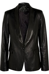 Iris And Ink Bailey Leather Blazer