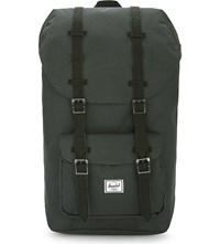 Herschel Supply Co Little America Backpack Dark Shadow Black Pu