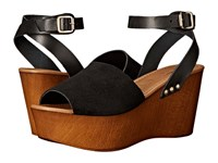 Seychelles Forward Black Women's Wedge Shoes