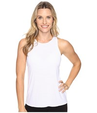Beyond Yoga Waterfall Swing Tank Top White Women's Sleeveless