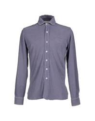 Alain Shirts Shirts Men Purple