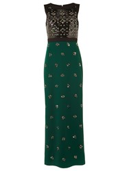 Phase Eight Collection 8 Gabby Embellished Dress Green