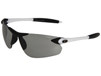 Tifosi Optics Seek Fototec Fc Smoke White Black Smoke Fototec Lens Athletic Performance Sport Sunglasses Gray