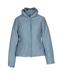 Noa Noa Coats And Jackets Jackets Women Sky Blue