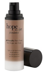 Philosophy 'Hope In A Jar' Light As Air Hydrating Fluid Foundation Spf 20 1 Oz Shade 9