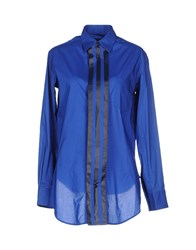 Y 3 Shirts Shirts Women Blue