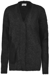 3.1 Phillip Lim Paneled Knitted Cardigan Gray