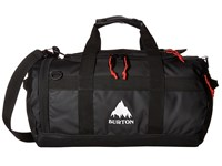 Burton Backhill Duffel X Small 25L True Black Tarp Duffel Bags