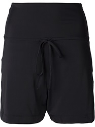 Lost And Found Mesh Panel Shorts Black