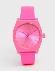 Adidas Sp1 Process Silicone Watch In Pink
