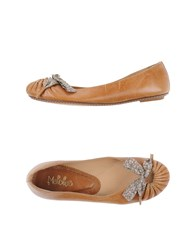 Maloles Footwear Ballet Flats Women Brown
