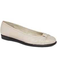 Easy Street Shoes Easy Street Giddy Flats Women's Shoes Bone