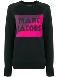 Marc Jacobs Logo Colour Block Sweater Black