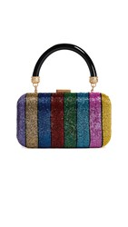 Alice Olivia Shirley Large Clutch Multi
