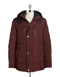 Bugatti Hooded Down Jacket Red