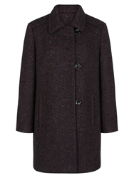 Eastex Purple Tweed Coat