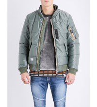 Magic Stick Quilted Shell Jacket Olive