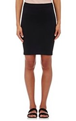 Helmut Lang Women's Tech Jersey Tube Miniskirt Colorless