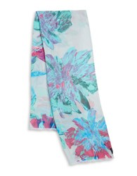 Fraas Paradise Lost Scarf Blue