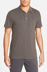 Ag Jeans Men's Ag 'Cliff' Short Sleeve Hemp Polo Shark
