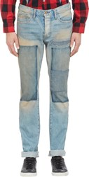 Nsf Patchwork Jeans Blue