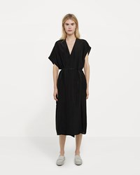 08Sircus Cu Si Taffeta Asymmetrical Sleeve Dress