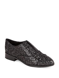 Saks Fifth Avenue Felix Sparkle Loafers Black