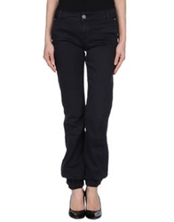 E Go' Sonia De Nisco Casual Pants Dark Blue