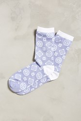 Urban Outfitters Medallion Sock Lilac