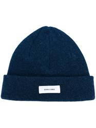 Soulland 'Villy' Knitted Beanie Blue