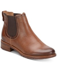 Sofft Selby Pull On Booties Women's Shoes Whiskey