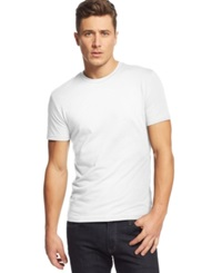 Alfani Red Slim Fit Crewneck T Shirt Bright White